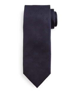 Tom Ford - Tonal Polka-Dot Tie, Navy