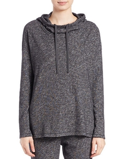Eileen Fisher  - Hooded Boxy Pullover