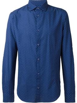 Armani Jeans - Polka Dot Print Shirt
