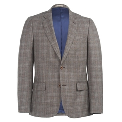 Magee - Brown Tailored Fit 3-Piece Suit