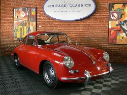 Porsche  - 1965 356 Karmann C Coupe Car