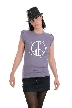 3 Elfen  - Girlie Shirt Shoulder Strap Peace Fairy