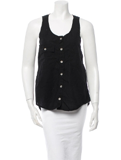 Rag & Bone - V-Neck Sleeveless Top