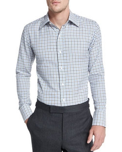 Tom Ford - Tattersall Check Dress Shirt