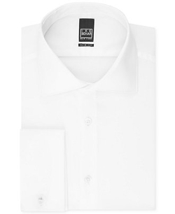 Ike Behar - Textured Solid French Cuff Shirt