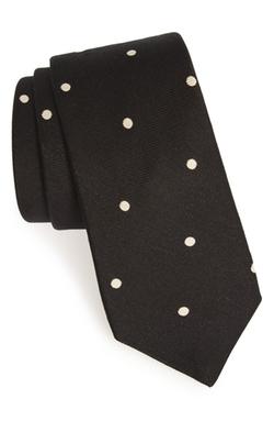 Todd Snyder White Label -  Dot Cotton & Silk Tie