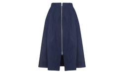 Whistles - Zip Through Midi Skirt