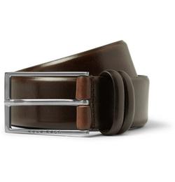 Hugo Boss   - Carmello Leather Belt