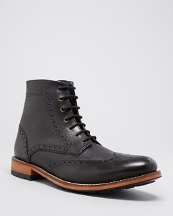 Ted Baker  - Sealls 2 Brogue Ankle Boots