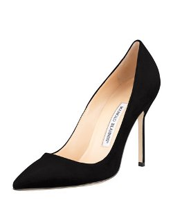 Manolo Blahnik   - BB Suede 105mm Pump