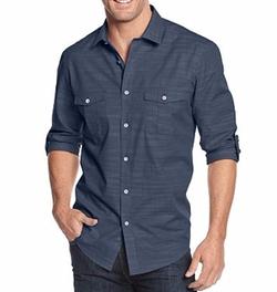 Alfani - Long Sleeve Warren Shirt