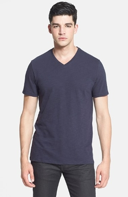 Vince  - Short Sleeve V-Neck T-Shirt
