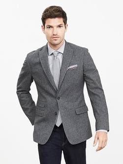 Banana Republic - Modern Slim-Fit Jacquard Blazer