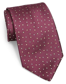 Charvet  - Tiny Dots Silk Tie