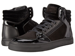 Marc Jacobs - Mixed Leather Hi-Top Sneakers
