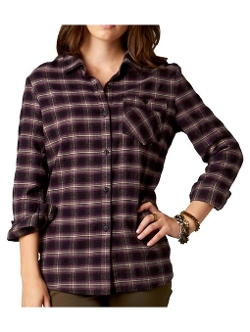 Fox Racing  - Girls Liberty Flannel Long-Sleeve Shirt