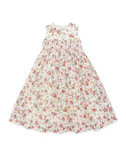 Ralph Lauren Childrenswear   - Smocked Floral Dress