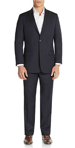 Versace Collection  - Tonal Pinstriped Wool Suit
