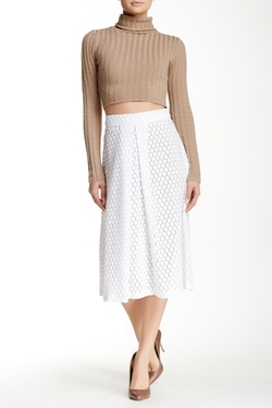 David Lerner - Lace Midi Skirt