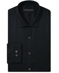Vince Camuto  - Slim-Fit Sateen Dress Shirt