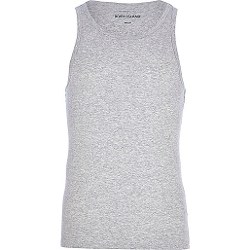 River Island - Grey Marl Tank Top