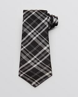 John Varvatos Star - Large Scale Check Classic Tie