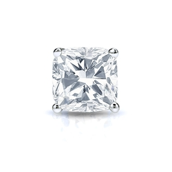 Diamond Wish - Cushion Diamond Stud Earring