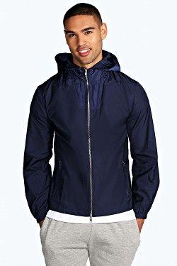 Boohoo - Windbreaker Jacket With Hood