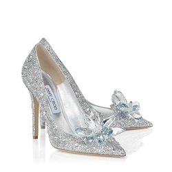 Jimmy Choo - Cinderella Crystal Point Toe Pumps