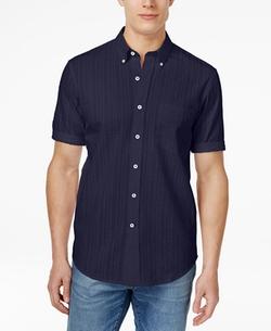 Club Room - Button-Down Short-Sleeve Shirt