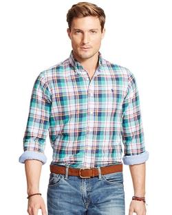 Ralph Lauren - Plaid Double-Faced Sport Shirt