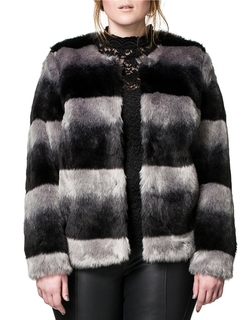 Carmakoma Plus  - Florina Faux Fur Coat