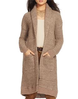 Lauren Ralph Lauren - Open-Front Shawl Sweater
