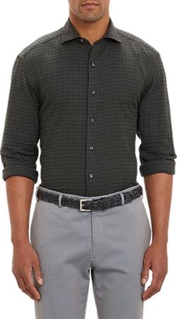 Barneys New York  - Check Shirt