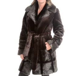 Kristen Blake  - Faux-Fur Coat