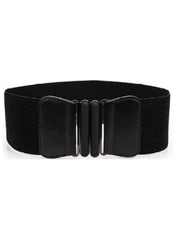 Only Faith - Coat Wide Waist Elastic Belt