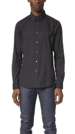 Theory  -  Sylvain Solid Dress Shirt