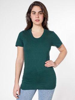 American Apparel - Jersey Loose Crew Summer T-Shirt
