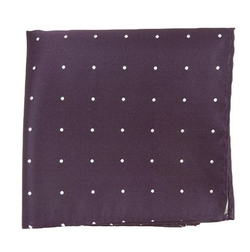 The Tie Bar - Satin Dot Pocket Square