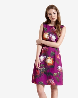 Ted Baker - Vintage Winter Floral Dress