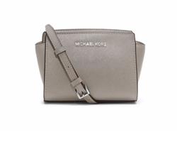 Michael Michael Kors - Selma Mini Saffiano Messenger Bag