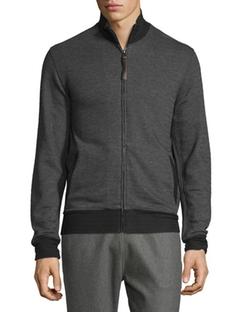 Billy Reid - Jacquard Knit Track Jacket