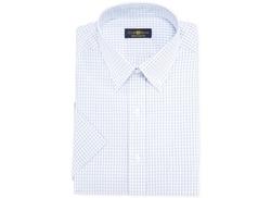 Club Room  - Check Short-Sleeved Dress Shirt