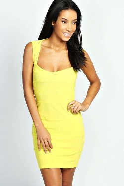 Boohoo - Candy Bodycon Dress