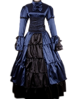 Wraith of East - Victorian Medieval Dress