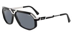 Cazal - Matte Black-Silver Sunglasses