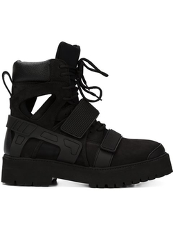 Hood By Air - Velcro Fastening Ankle Boots