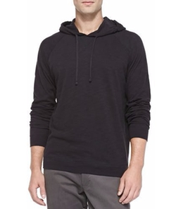 Vince - Slub Pullover Hoodie Sweater
