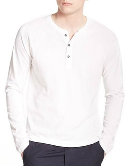 Splendid Mills  - Henley Long-Sleeve Tee