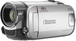 Canon - Digital Video Camcorder Silver
